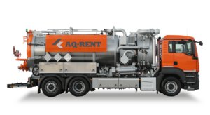 aq rent vacuum trucks wet