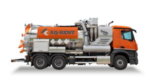 aq rent vacuum trucks with cyclone dry wet
