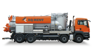 aq rent vacuum trucks with filter dry